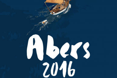 graphisme affiche abers 2016