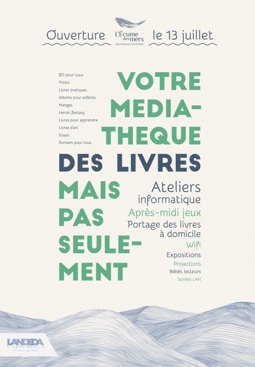 Affiche mediatheque